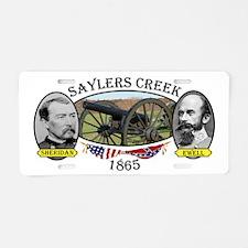 Saylers Creek Aluminum License Plate