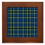 Tartan - Campbell of Argyll Framed Tile