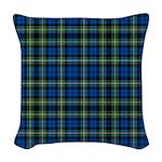 Tartan - Campbell of Argyll Woven Throw Pillow