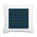 Tartan - Campbell of Argyll Square Canvas Pillow