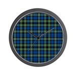 Tartan - Campbell of Argyll Wall Clock