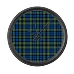 Tartan - Campbell of Argyll Large Wall Clock