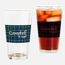Tartan - Campbell of Argyll Drinking Glass