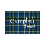 Tartan - Campbell of Argyll Rectangle Magnet