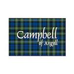 Tartan - Campbell of Argyll Rectangle Magnet (100