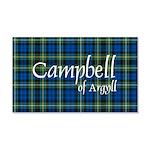 Tartan - Campbell of Argyll 20x12 Wall Decal