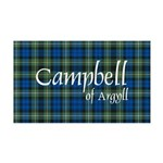 Tartan - Campbell of Argyll 35x21 Wall Decal