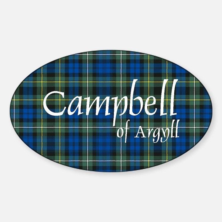 Tartan - Campbell of Argyll Decal