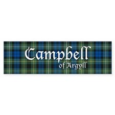 Tartan - Campbell of Argyll Bumper Bumper Sticker
