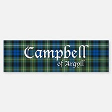 Tartan - Campbell of Argyll Bumper Bumper Sticker