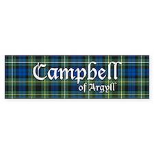 Tartan - Campbell of Argyll Bumper Sticker