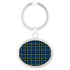 Tartan - Campbell of Argyll Oval Keychain