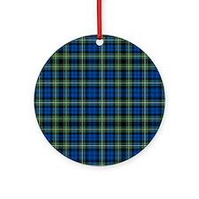 Tartan - Campbell of Argyll Ornament (Round)