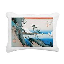 Satta Pass at Yui by Hir Rectangular Canvas Pillow