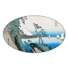 Satta Pass at Yui by Hiroshige Decal
