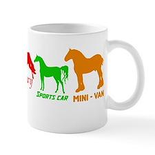 Nice Horses Mugs