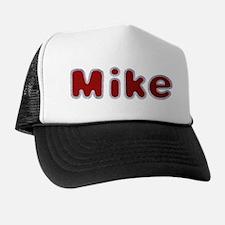Mike Santa Fur Trucker Hat