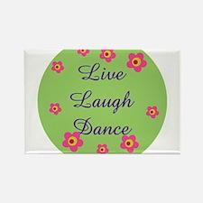 LIVE LOVE DANCE Rectangle Magnet