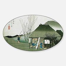 Famous Teahouse at Mariko by Hirosh Decal