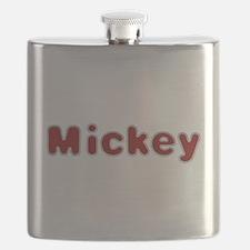 Mickey Santa Fur Flask