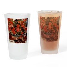 Renoir - Geraniums Drinking Glass