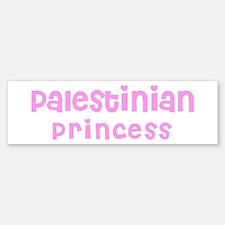 Palestinian Princess Bumper Bumper Bumper Sticker