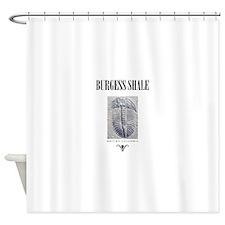 Burgess Shale Shower Curtain