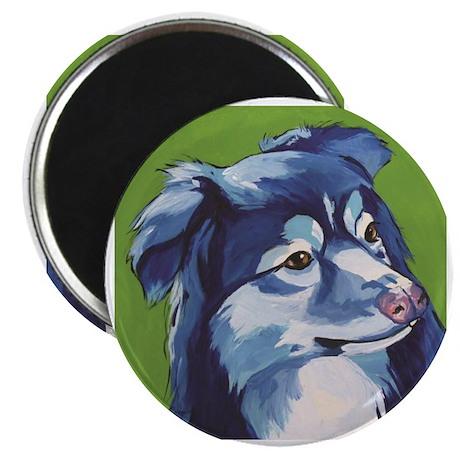 Blue Aussie Magnet