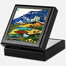 Van Gogh - Les Alpilles Mountain Land Keepsake Box
