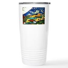 Van Gogh - Les Alpilles Mountai Travel Mug