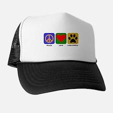 Peace Love Labradoodle Trucker Hat