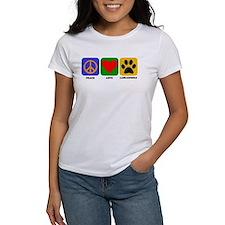 Peace Love Labradoodle T-Shirt