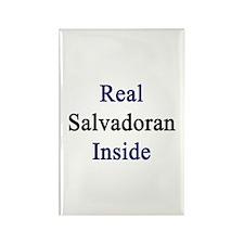 Real Salvadoran Inside Rectangle Magnet