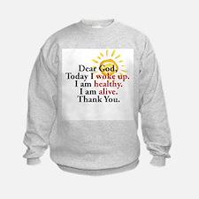 Dear God. Thank You. Sweatshirt