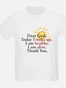 Dear God. Thank You. T-Shirt