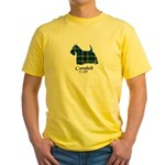 Terrier - Campbell of Argyll Yellow T-Shirt