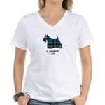 Terrier - Campbell of Argyll Women's V-Neck T-Shir