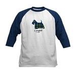Terrier - Campbell of Argyll Kids Baseball Jersey