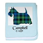 Terrier - Campbell of Argyll baby blanket