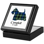 Terrier - Campbell of Argyll Keepsake Box