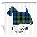 Terrier - Campbell of Argyll Shower Curtain