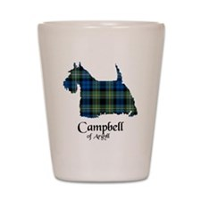 Terrier - Campbell of Argyll Shot Glass