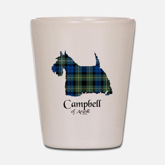 Terrier - Campbell of Argyll Shot Glass