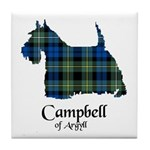Terrier - Campbell of Argyll Tile Coaster