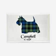 Terrier - Campbell of Argyll Rectangle Magnet