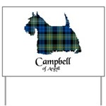 Terrier - Campbell of Argyll Yard Sign