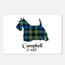 Terrier - Campbell of Argyll Postcards (Package of