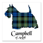 Terrier - Campbell of Argyll Square Car Magnet 3