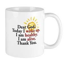 Dear God. Thank You. Mugs