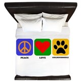 Goldendoodle Duvet Covers
